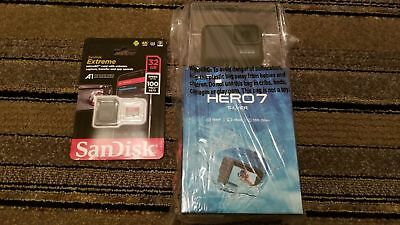 BRAND NEW GOPRO HERO 7 SILVER 4K30 10MP ACTION CAMERA + 32GB Class 3 SD Card