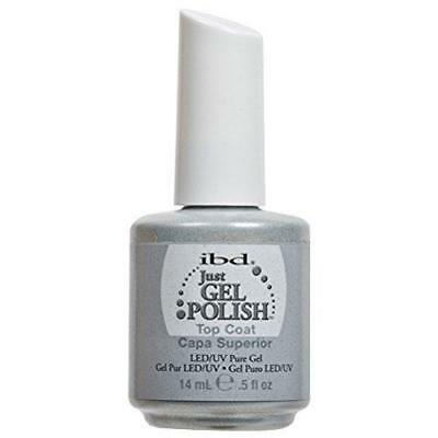 IBD Just Gel Nail Polish Top Coat, 0.5 Fluid Ounce