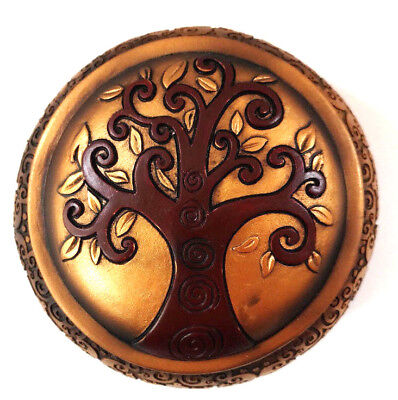 Tree of Life Irish Celtic Trinket Jewelry Box Spiritual New Age Pagan Home Gift