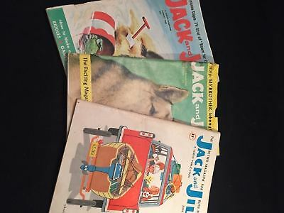 vintage lot 1959 1960 1962 Jack and Jill Magazine for Boys Girls Puzzles Stories