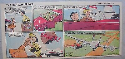 The Bantam Prince Sunday by Lariar and Pfeufer from 9/13/1953 Third Page Size!