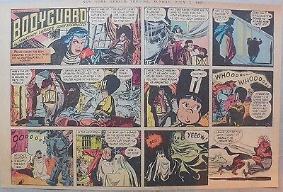 Bodyguard Sunday by Lariar and Pfeufer from 7/3/1949 Half Page Size!