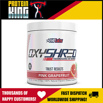 Ehp Labs Oxyshred Pink Grapefruit 60 Serves Thermogenic Ehplabs Oxy Shred Burner