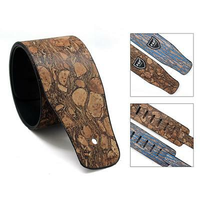 P&P Guitar Strap For Electric Acoustic Bass Adjustable Double-layer Leather Belt