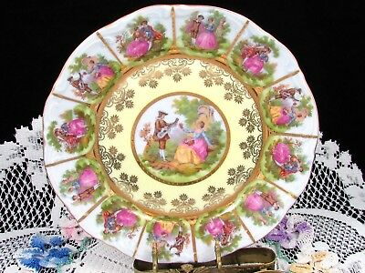 Nc West Germany Love Story Hand Painted Fragonard Decorative Plate