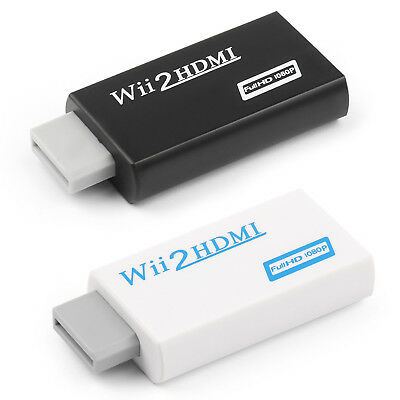 Wii to HDMI 720P 1080P Converter Adapter Full HD Video + 3.5mm Audio Output
