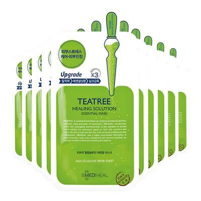 [MEDIHEAL] Teatree Care Solution Essential Mask EX 10 Pcs K-Beauty