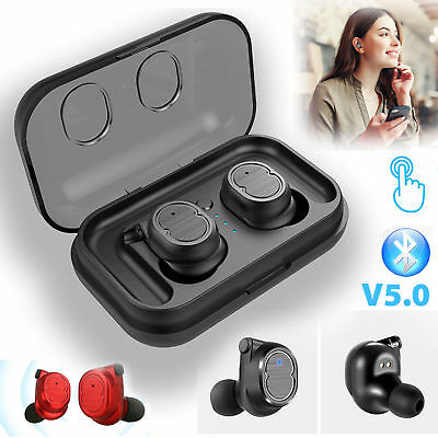 Touch Mini True Wireless Bluetooth 5.0 Earbuds Twins Headset Earphone Headphones