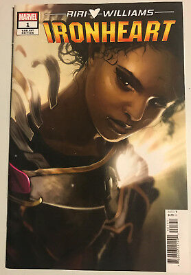 Ironheart 1 1:50 Stephanie Hans Incentive Variant Nm Marvel Very Hot Book!