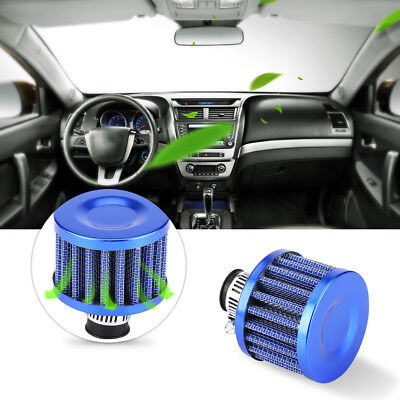 13mm Royal Blue Car Vehicle Cold Air Intake Filter Breather Crankcase Vent Cover