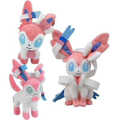 Pokemon Center Sylveon Nymphia Plush Doll Stuffed Animal Figure Toy  X'mas Gift