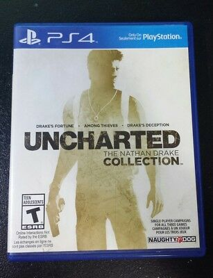 Uncharted: The Nathan Drake Collection: PS4 videogame: - NO SCRATCHES + warranty