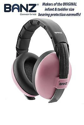 Baby Hearing Protection Earmuffs Pink Kids Child Ear Protection Reduction Noise