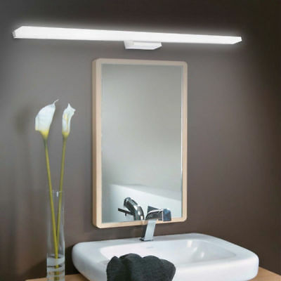 Modern Bathroom LED Crystal Mirror Front light Make-up Wall Lamp Vanity Light US