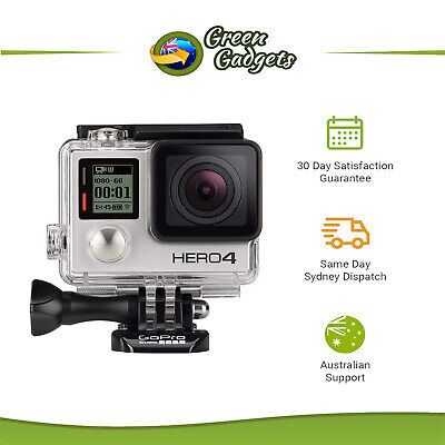 GoPro Hero 4 Silver and Black Edition Action Camera