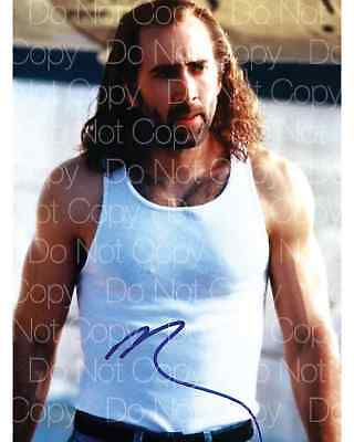 Con Air signed Nicolas Cage 8X10 photo picture poster autograph RP