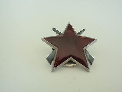 Yugoslavia Order Of The Partisan Star 3Rd Class. Silver. Marked. Numbered. Vf+