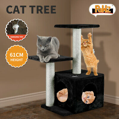 0.6M Cat Scratching Post Tree Gym House Condo Furniture Scratcher Pole NEW