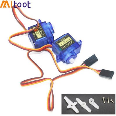10x Mitoot SG90 9g Mini Micro Servo for RC 250 450 Helicopter Airplane