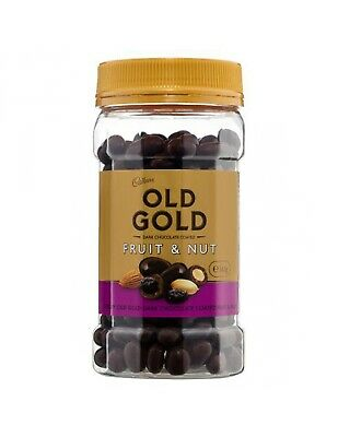 Cadbury Old Gold Scorched Fruit & Nut 340gm x 10