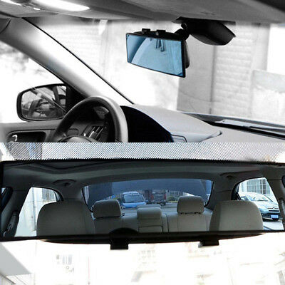 Universal 300mm Car Truck Curved Wide-angle Interior Rear View Mirror Rearview