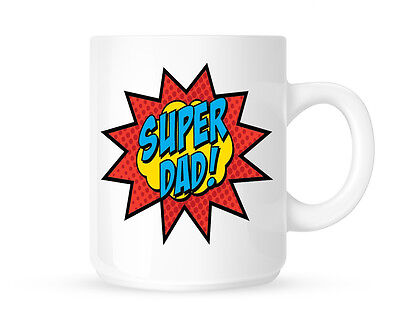Super Dad Mug Fathers Day Gift Birthday Christmas Daddy Gift