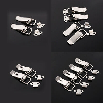 Toggle Catch Latch Case Trunk Chest Boxes Suitcase Clip Clasp Trinket Strap Lock