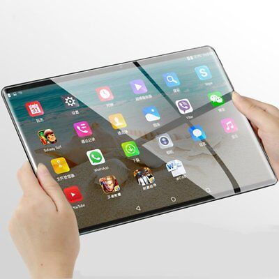 10.1 inch Android 7.0 Tablet PC 4GB+64GB Octa Core WIFI GPS Phone Wifi Phablet H