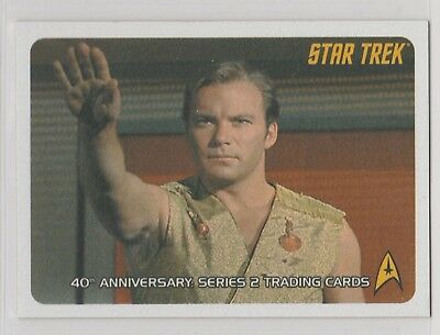 Star Trek Tos 40Th Anniversary Series 2 Promo Card P1