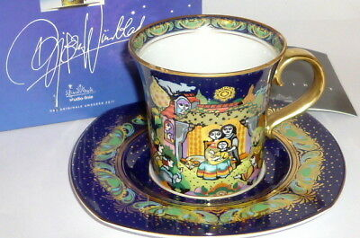 Rosenthal Christmas Cup Björn Wiinblad Christmas 1995 Cup Collection Cup Cup