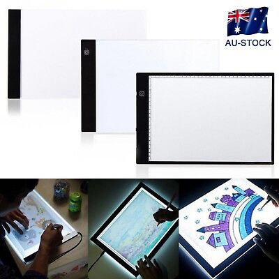 Digital A4 LED Tablet Graphic Artist Drawing Sign Display Panel Luminous Board