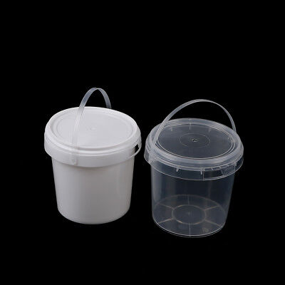 1 Liter Plastic Buckets Tubs Containers Tamper Evident Lids S&K