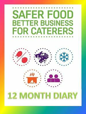 Safer Food Better Business 12 Month Diary Refill SFBB HACCP Record Keeping Book