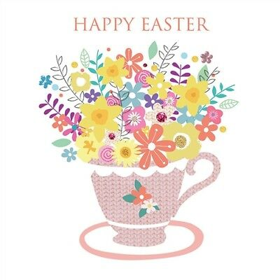Easter Card Pack - Flower Cup