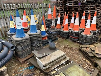 Used Traffic Cones And No Parking Cones Job Lot