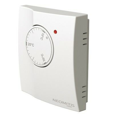 Neomitis Wired Analogue Room Thermostat 230V for heating RTA/58062