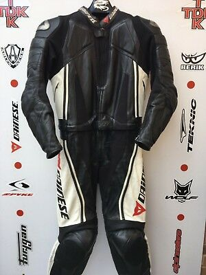 Dainese Trickster 2 piece race suit with hump uk 44 Euro 54
