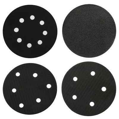 "5"" 125mm Interface Pad Hook Loop 3mm Sanding Polishing Disc Backing Pads Cushion"