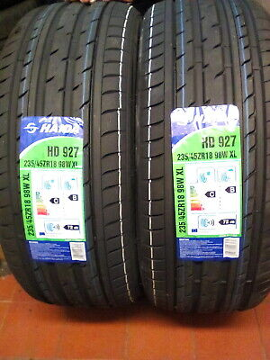 2 X 205 55 R16 91W Riken Road Performance New European Tyres Made By - Michelin