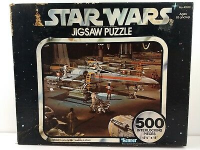 Star Wars X Wing Puzzle 1977 500 Pieces SEALED