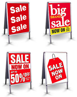 SALE POSTER - Tearproof & Waterproof ideal for A board & Snap Frames - A2 A1 A0