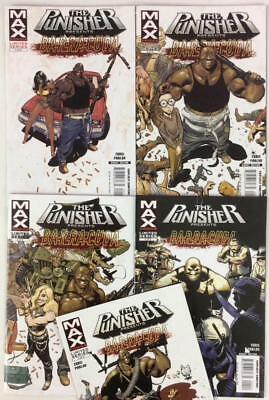 Punisher Barracuda #1 to #5 complete series (Marvel 2007) hi grade condition.