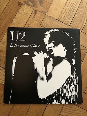 U2 In The Name Of Love ,Live at Westfalenhalle Germany, RARE 1984 LTD. ED. LP