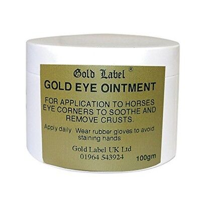 Canine Gold Eye Ointment, Gold Label, Soothes & Removes Crusts, 100 Gm - Label