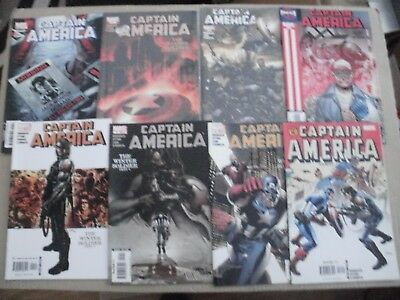 Captain America - The  Winter Soldier - #7,8,9,10,11,12,13,14 - 1St Prints