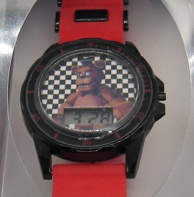 Five Nights at Freddy's Kids LCD Watch Red Black