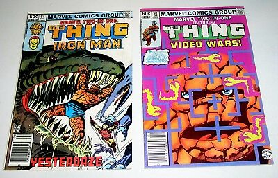 MARVEL TWO-IN-ONE #97 and #98  Iron Man and Video Wars
