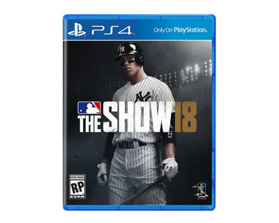 MLB: The Show 18 Brand New Factory Sealed (Sony PlayStation 4)