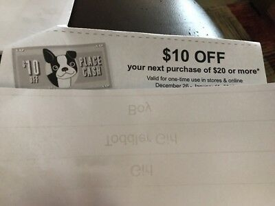 Childrens Place $10 Off $20 Purchase Coupons Children's Place Cash *15 COUPONS*