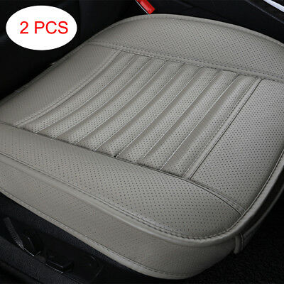UK Car Front Seat Cover Charcoal Cushion Auto Protective Mat Pad Breathable Grey